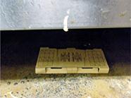コロニートラップ 使用例5 [害虫駆除、ゴキブリ、クロゴキブリ、チャバネゴキブリ、幼虫、卵、種類、対策、駆除方法、粘着トラップ、調査]