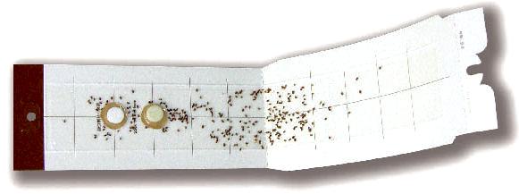 ニューセリコ 製品特徴 [シバンムシ、大発生、調査、害虫対策、駆除、退治、調査、トラップ、食品、本、小さい虫]